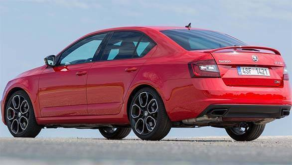 Skoda Octavia vRS to be launched in India on September 1 2017