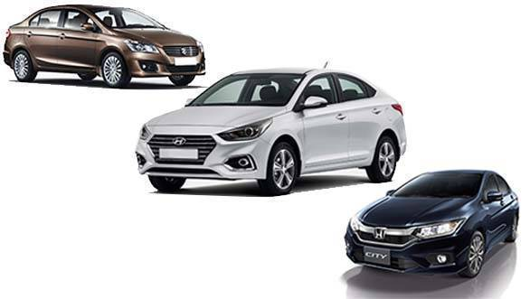 Spec comparison: New Hyundai Verna vs Honda City vs Maruti Suzuki Ciaz
