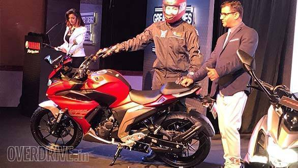 Yamaha Fazer 25 (FZ25 based) India launch price INR 1.28 lakh