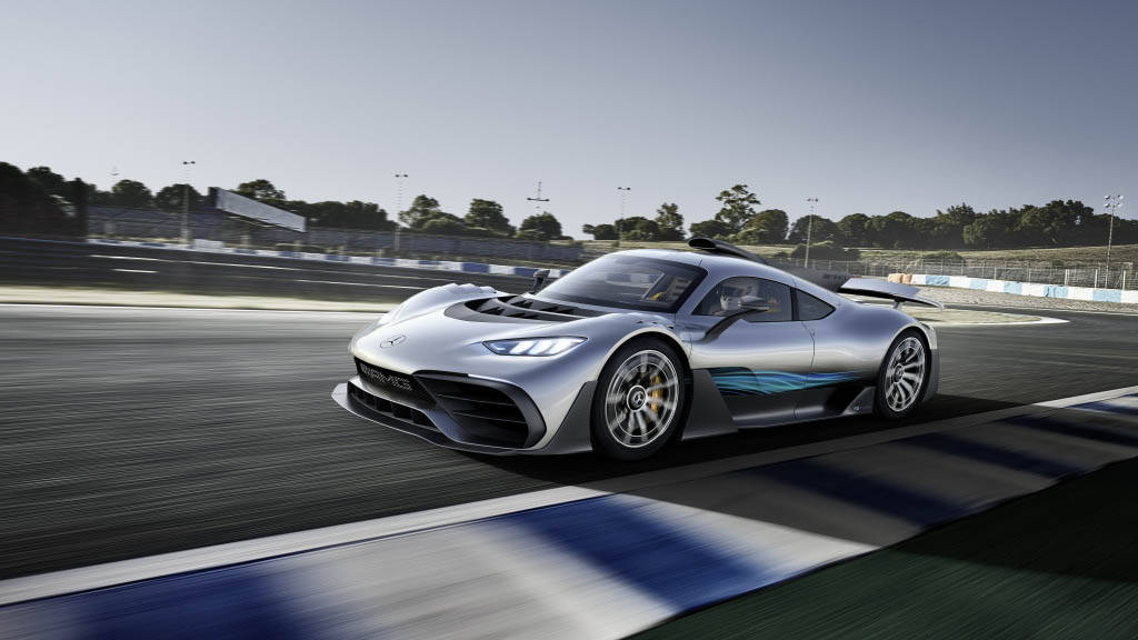 2017 Frankfurt Motor Show: Mercedes-AMG Project One is 1,000+PS, 0-200 in 6 seconds!