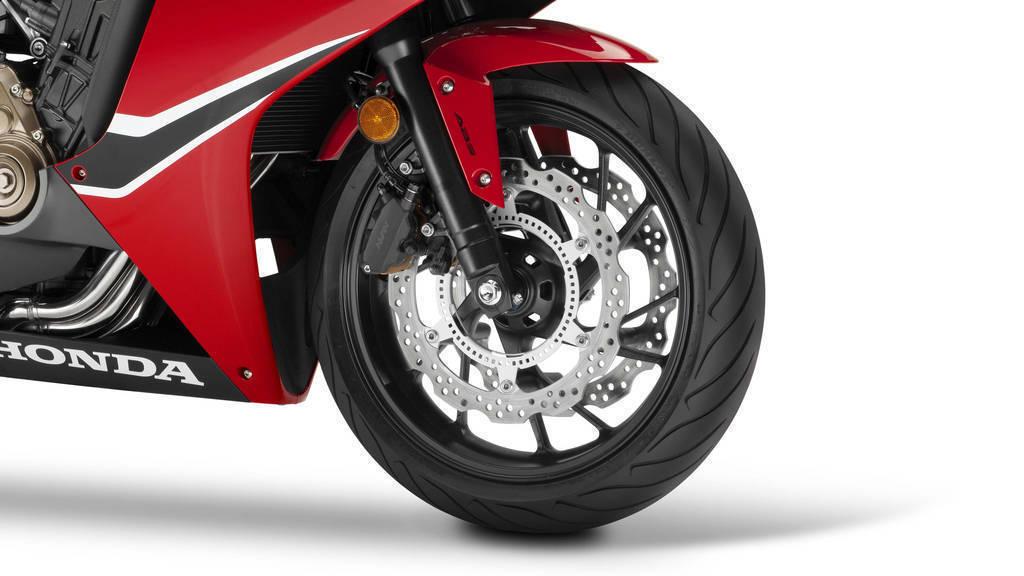 2018 Honda CBR650F detail brakes