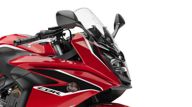 2018 Honda CBR650F detail headlight