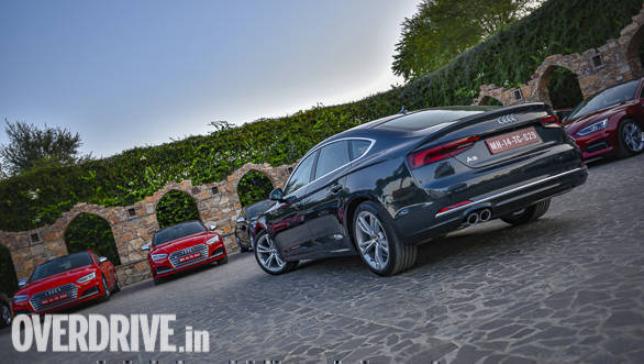 Audi India drives in the A5 range, starting at Rs 54.02 lakh