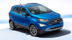 2017 Frankfurt Motor Show: India-bound Ford EcoSport facelift first look