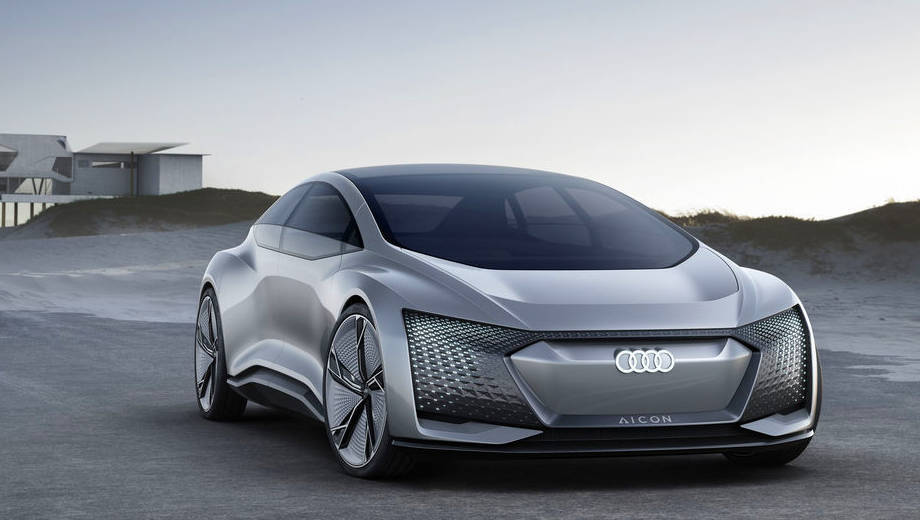 2017 Frankfurt Motor Show: Audi Aicon concept first look