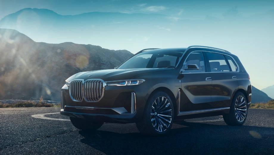 2017 Frankfurt Motor Show: BMW X7 concept first look