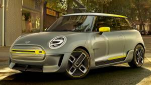 2017 Frankfurt Motor Show: Mini Electric concept first look