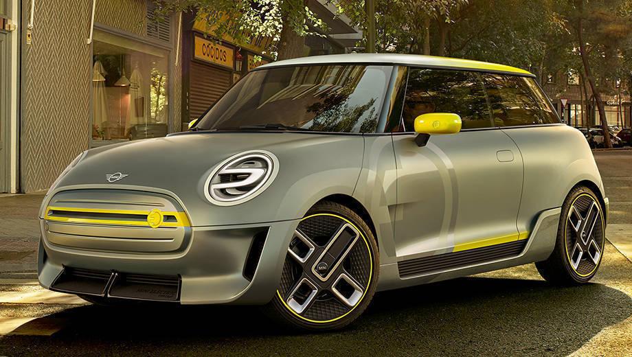 2017 Frankfurt Motor Show: Mini Electric concept first look