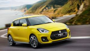 2017 Frankfurt Motor Show: New Suzuki Swift Sport first look