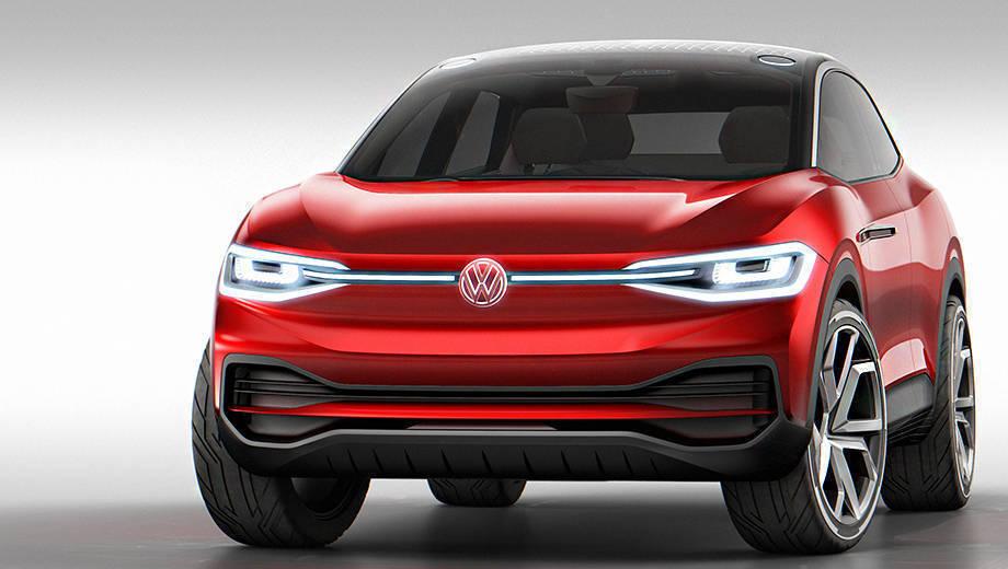 2017 Frankfurt Motor Show: Volkswagen ID Crozz concept first look