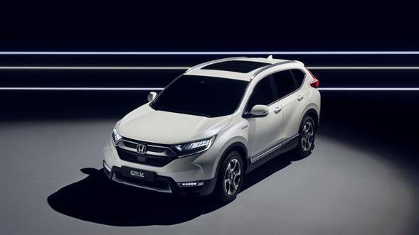 2018 Honda CR-V Hybrid unveiled. 2017 Frankfurt Motor Show