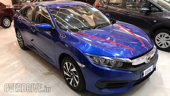 India-bound 2018 Honda Civic first look
