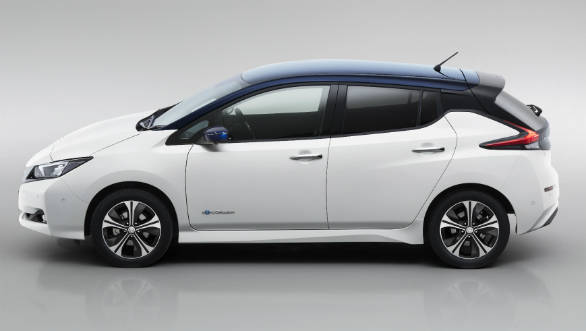Elegant Nissan Leaf 2018 Model