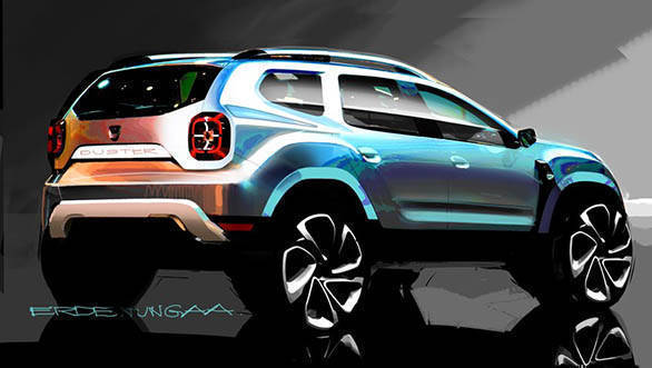 2018 Renault Dacia Duster Design sketch