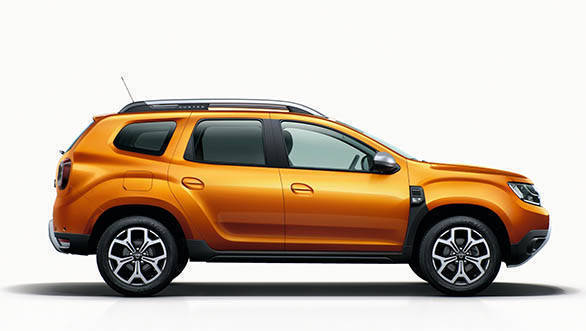 2018 Renault Dacia Duster Studio side profile