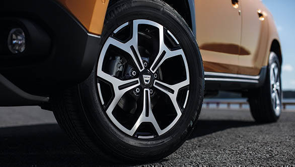 2018 Renault Dacia Duster Detail wheels