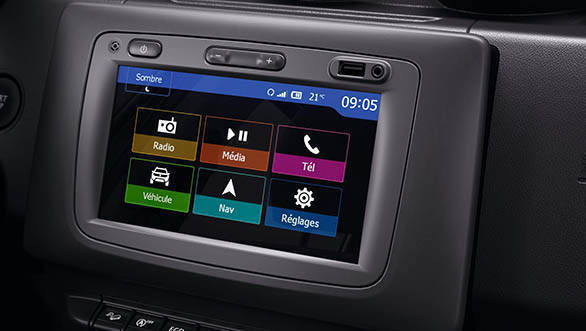 2018 Renault Dacia Duster Detail infotainment