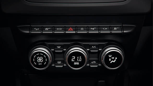 2018 Renault Dacia Duster Detail air conditioning