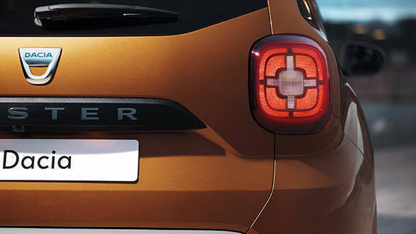 2018 Renault Dacia Duster Detail tail light