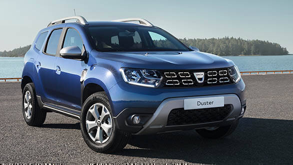 2018 Renault Dacia Duster STatic front 3/4
