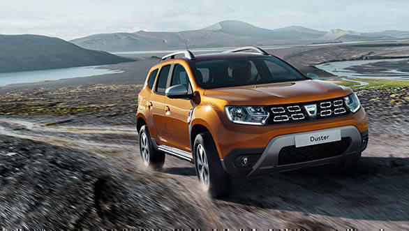 2018 Renault Dacia Duster Action front 3/4