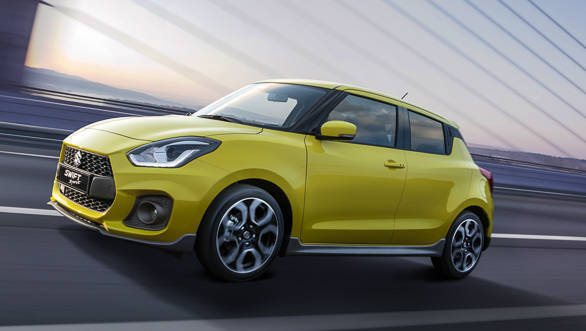 Suzuki unveils Swift Sport at Frankfurt show