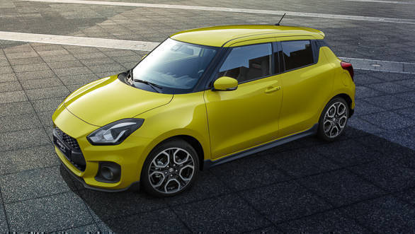 2018 Maruti Suzuki Swift: engines and transmissions