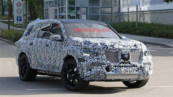 New-gen Mercedes-Benz GLS SUV spotted, launch in 2019