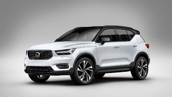 Volvo XC40 unveiled and is India-bound in 2018
