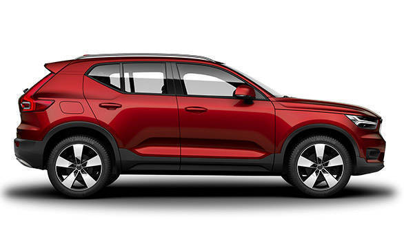 Volvo XC40 (India bound) image gallery
