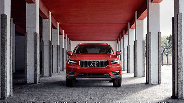 Volvo XC40 SUV (India bound) details and specifications