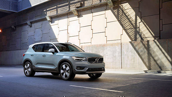 Volvo XC40 subscription programme might not work for India