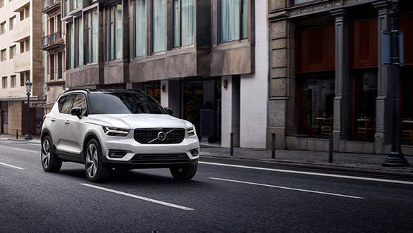 Volvo XC40 India launch soon, listed on website