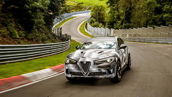 Alfa Romeo Stelvio Quadrifoglio is now fastest SUV around Nurburgring circuit