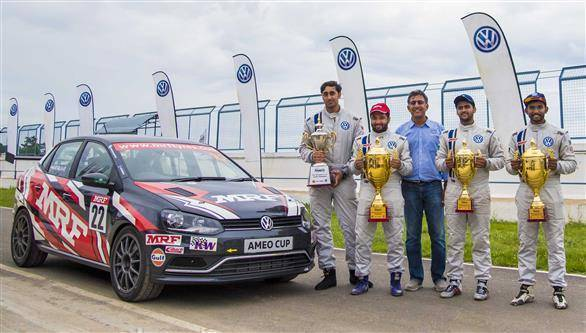 2017 VW Ameo Cup Rd 4: Karminder Singh claims championship, Anmol Singh wins Junior Cup