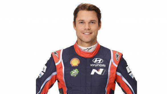 WRC: Hyundai recruits Andreas Mikkelsen for 2018 and 2019 seasons