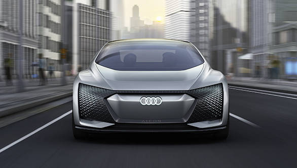 Audi Aicon Concept from the 2017 Frankfurt Motor Show