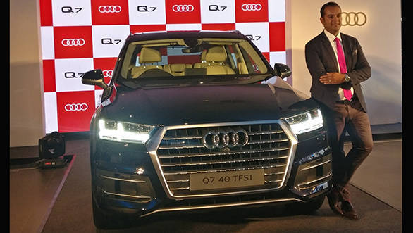 2017 Audi Q7 40 TFSI petrol SUV launched in India at Rs 67.76 lakh