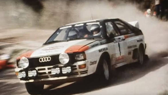 Video worth watching: Audi's five-pot shot to fame