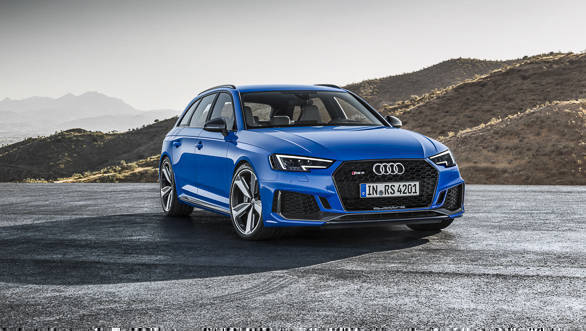 2017 Frankfurt Motor Show: 2018 Audi RS 4 Avant station wagon with 456PS revealed