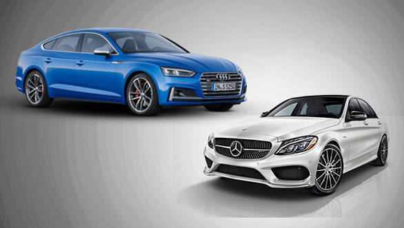Spec comparison: 2017 Audi S5 Sportback vs Mercedes-AMG C 43