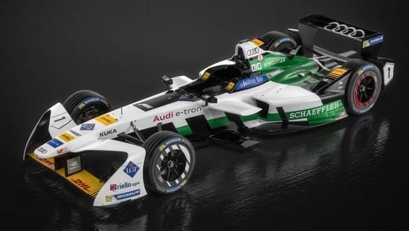 Formula E: Audi unveils e-tron FE04