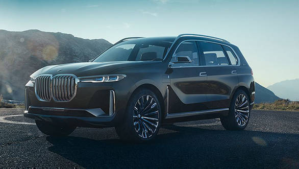 2017: Frankfurt Motor Show: BMW X7 IPerformance SUV Concept Is A  Full Fledged 7 Seater
