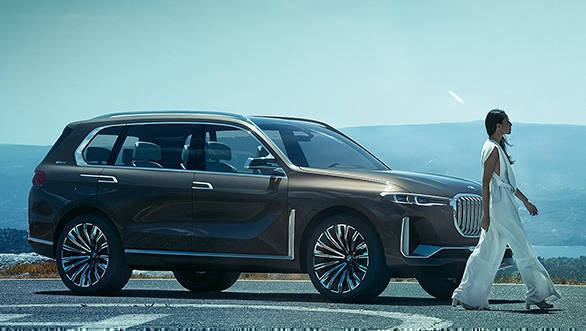 2017: Frankfurt Motor Show: BMW X7 iPerformance SUV concept is a full-fledged 7-seater