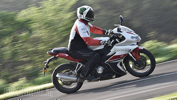 DSK Benelli 302R road test review