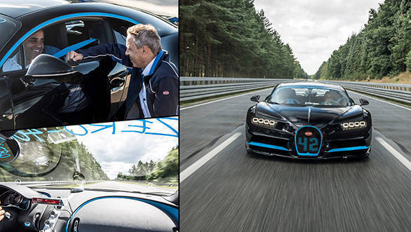 Video worth watching: How do you capture a Bugatti Chiron at 400kmph?
