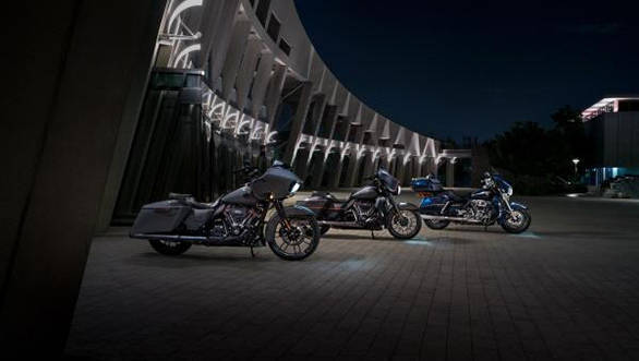 2018 Harley-Davidson CVO and Touring models