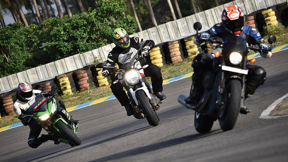 Comparision test: Kawasaki Ninja 650, Ducati Monster 797, Harley-Davidson Street Rod