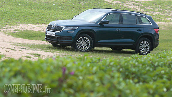 2017 Skoda Kodiaq first drive review