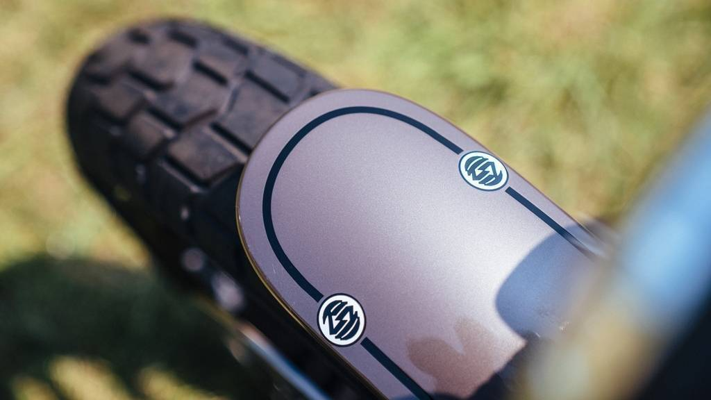 Ducati Scrambler Mach 2.0 Fender detail